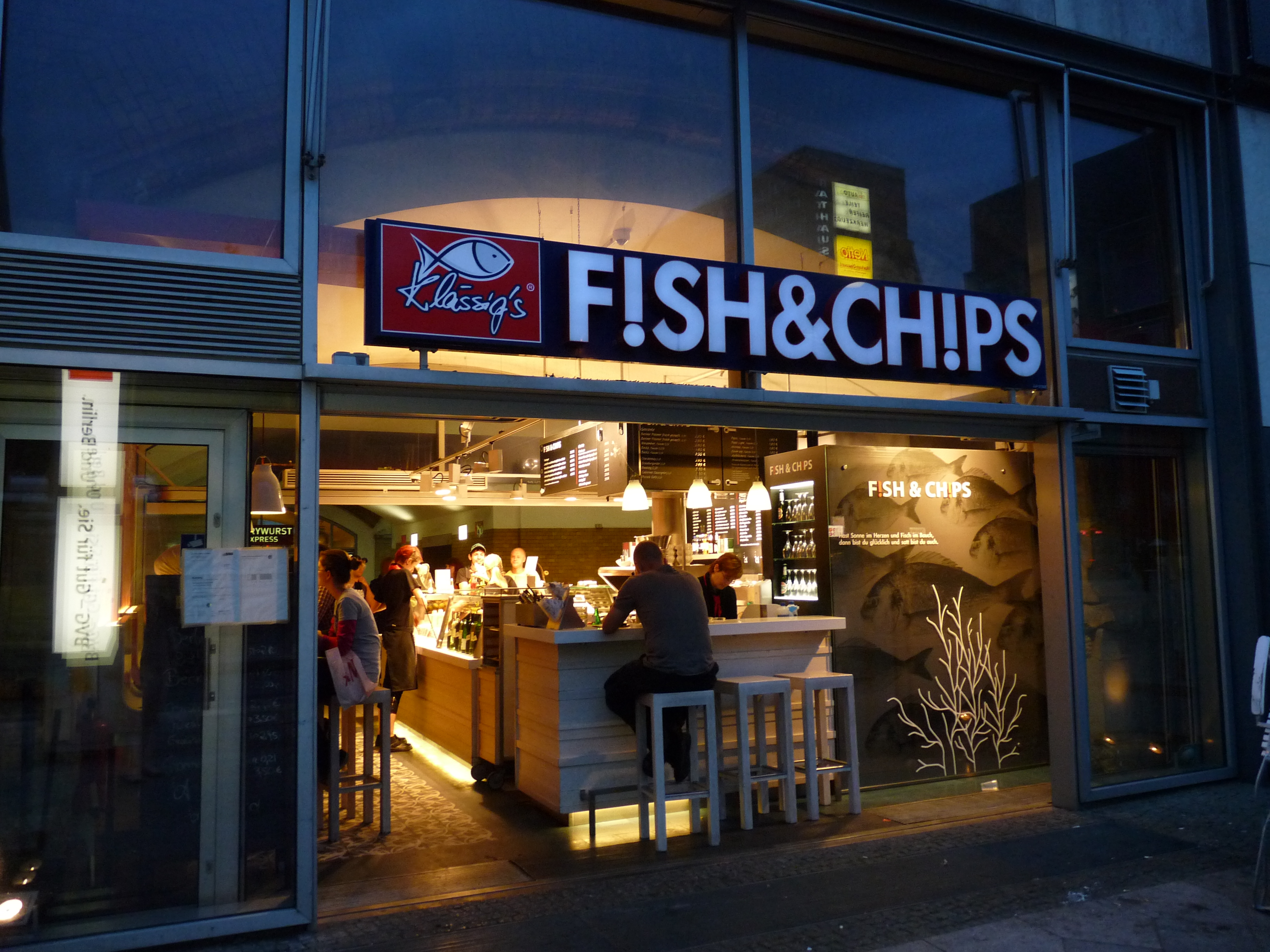 Fish And Chips Berlin Style Blog Stina Design