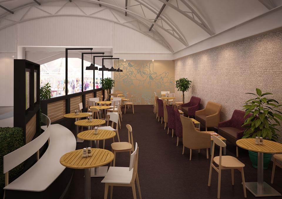 Notcutts Garden Centre Cafe Concept Only Stina Willett