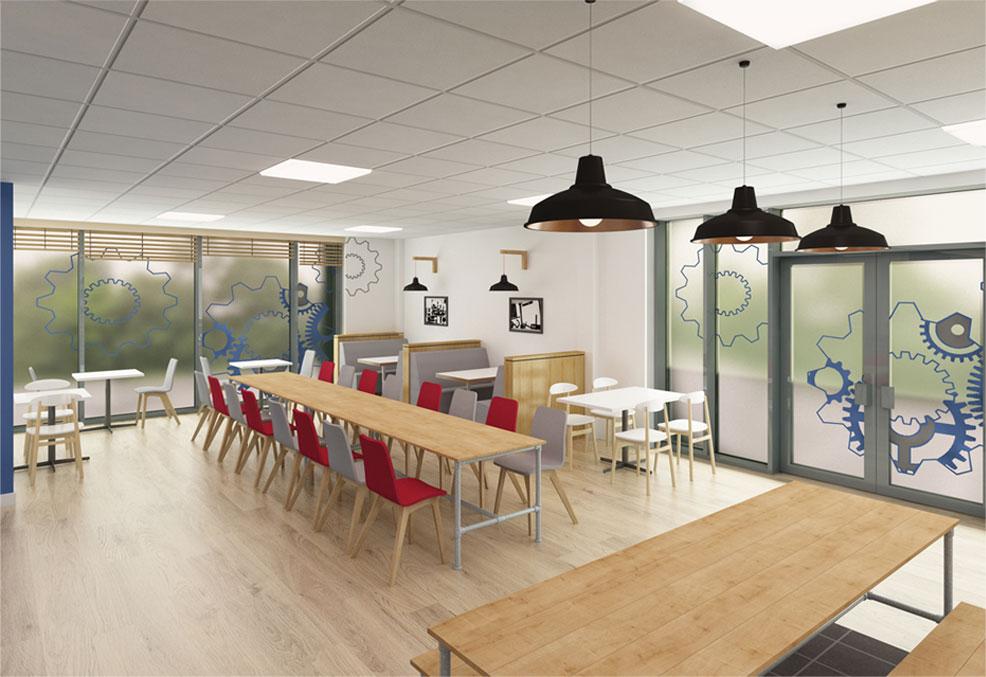 Screwfix head office in yeovil stina willett for Kitchen design yeovil