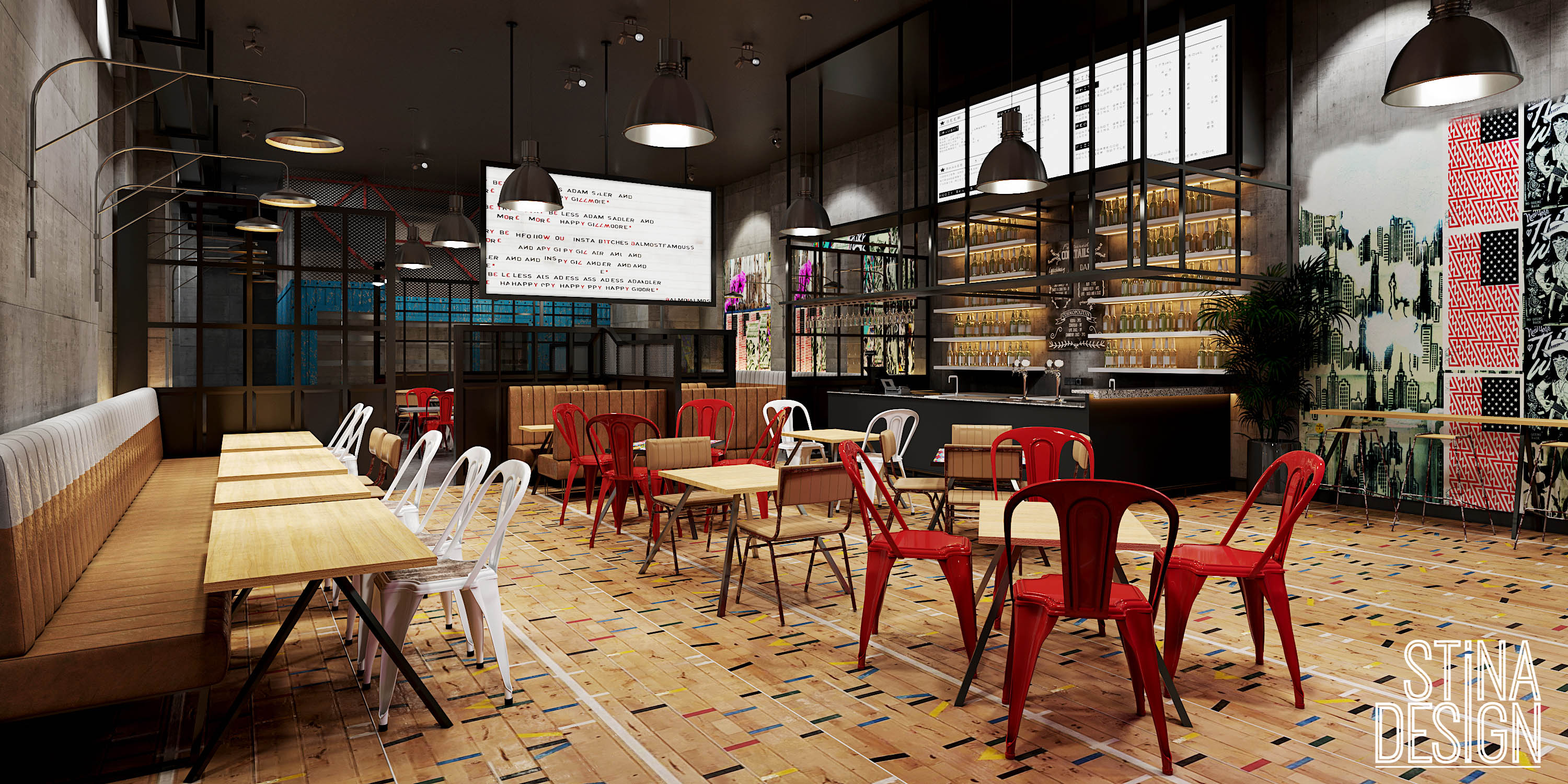 Restaurant Design Visualisation